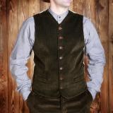 1923 Buccaneer Vest cord brown
