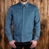 1937 Roamer Shirt blue Stifl - Odds & Ends