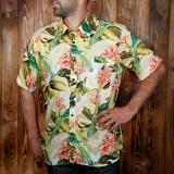 1937 Roamer Shirt short sleeve yellow Parrot