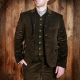 1923 Buccaneer Jacket cord brown