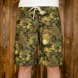 1961 Surf Short Makalawena yellow