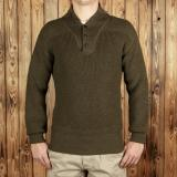 1944 High Neck Sweater olive