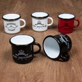1951 Pike Brothers Enamel Mug black