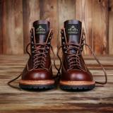 1946 Mountaineer Boots bourbon brown