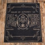 1969 Logo blanket faded black