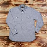 1952 Rider Shirt chambrey grey  - Odds and Ends