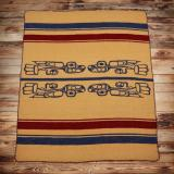 1969 Bon ton-ton blanket yellow