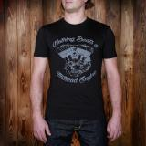 1948 Sports Tee Engine faded black - Odds & Ends