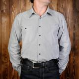 1937 Roamer Shirt salt & pepper grey - Odds and Ends