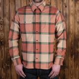 1937 Roamer Shirt flannel orange