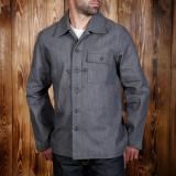 1944 P 44 Jacket grey denim 13oz - Odds & Ends
