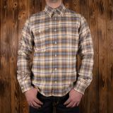 1937 Roamer Shirt dark oliv flannel - Odds & Ends