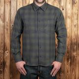 1937 Roamer Shirt oliv check flannel