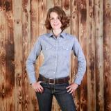 Texas Shirt chambrey grey - Odds & Ends
