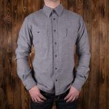 1937 Roamer Shirt Alaska grey flannel - Odds & Ends
