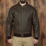 1938 A2 Flight Jacket russet brown