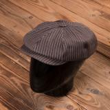 1928 Newsboy Cap brown wabash