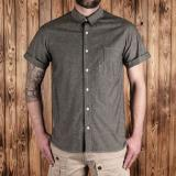 1937 Roamer Shirt Short sleeve charcoal grey