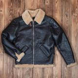 1941 B6 Flight Jacket seal brown