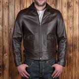 1935 Aviator Jacket brown leather