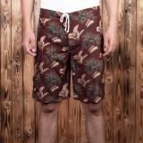 1961 Surf Short Maohu red