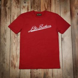 1948 Sports Tee Pike Brothers brick red