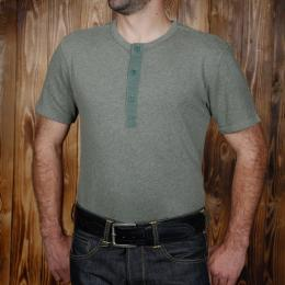 1954 Utility Shirt Short Sleeve oliv drab  - Odds & Ends
