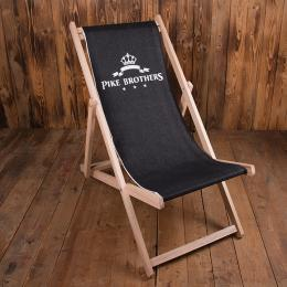 Pike Brothers Logo Deck Chair